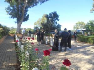 オーストラリア兵隊墓地