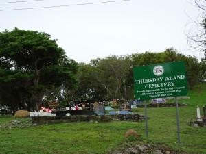木曜島日本人墓地