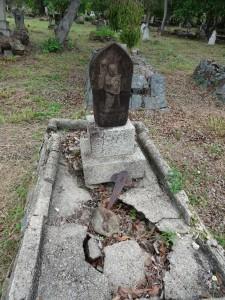 木曜島日本人墓地②