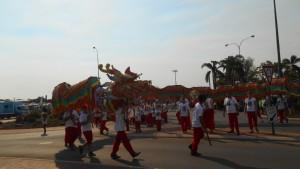 中国の龍舞