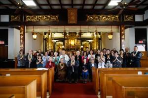 2019年12月22日、別院日曜礼拝と開教使・助員研修会