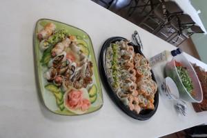 総監得意の手作り寿司。カウアイ島ではほとんど毎週作って10年以上が経過しました。